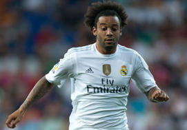 Marcelo, lateral del Real Madrid,