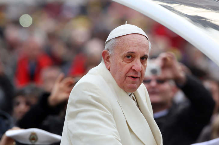 File photo of Pope Francis.