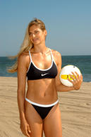 Gabrielle Reece - 6 feet 3 inches (1.91 meters)