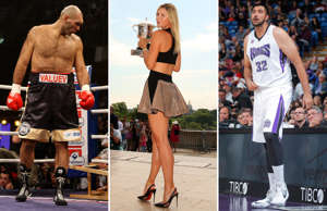Tall order! 30 lankiest athletes in sport