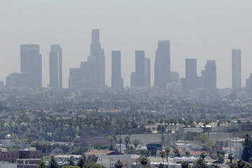 8 of the 10 most ozone-polluted cities are in one state