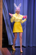 Miley Cyrus Visits 'The Tonight Show Starring Jimmy Fallon' at Rockefeller Center on October 1, 2015 in New York City.