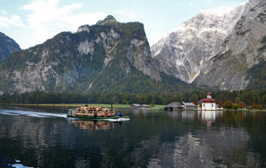 "<span style=""font-size:13px;"">Lake near Berchtesgaden, southern Germany.</span>"