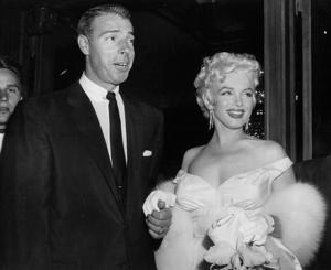 File photo of actress Marilyn Monroe and Joe DiMaggio.
