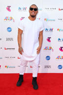 Stan Walker arrives for the 29th Annual ARIA Awards 2015 at The Star on November 26, 2015 in Sydney, Australia.