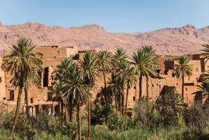 A typical moroccan kasbah.