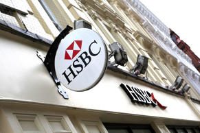 HSBC Bank, London, Britain