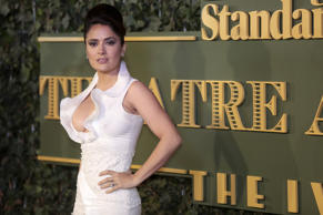 Salma Hayek at the Standard Theatre awards