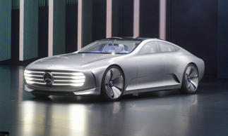 The German car company pulled out all the stops for its home motor show, building a massive multi-story display as well as showcasing a number of new production and concept cars. The concept that caught our attention was the Concept Intelligent Aerodynamic Automobile (IAA).