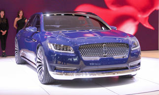 One of the stars of the 2015 New York Auto Show was this Lincoln Continental Con...