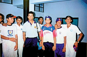 Rare photos of cricketers