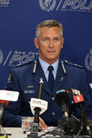 New Zealand Police Commissioner Mike Bush.