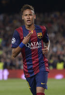 FILE: Neymar has made the three-man Ballon D'Or shortlist for the first time, alongside Barcelona teammate Lionel Messi and title holder Cristiano Ronaldo.