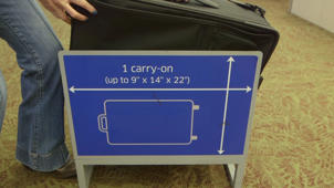 Finding Carry-on Luggage That Fits Overhead