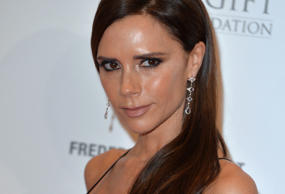 Victoria Beckham attends The Global Gift Gala at Four Seasons Hotel on November 30