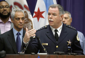 In this Nov. 24, 2015 file photo, Chicago Police Superintendent Garry McCarthy, ...
