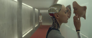 Alicia Vikander in 'Ex Machina'