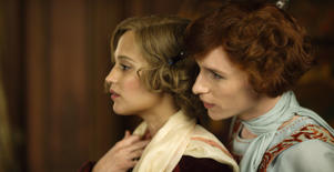 Alicia Vikander (left) in 'The Danish Girl'