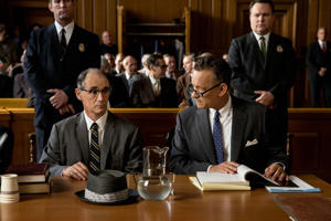 Mark Rylance (left) in 'Bridge of Spies'