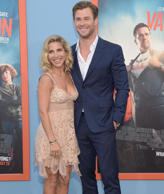 WESTWOOD, CA - JULY 27: Elsa Pataky and Chris Hemsworth attend the premiere of '...