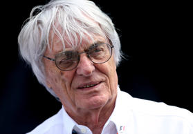 Formel-1-Boss Bernie Ecclestone am 7. April 2015.
