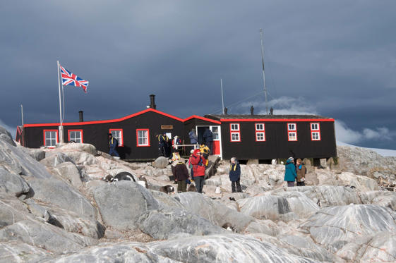 British Base and Post Office, Port Lockroy, Antarctic Peninsula, Antarctica, Polar Regions