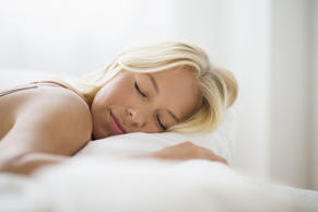 Research shows that those who sleep 8 hours or more per night are three times le...