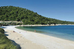 Alonissos beach.