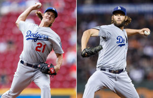 Clayton Kershaw and Zack Greinke.