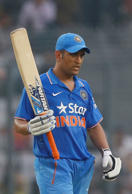 Where's Dhoni's thinking cap?
