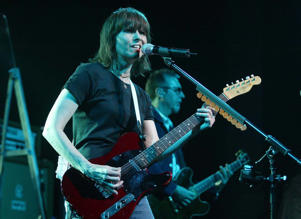 The Pretenders perform live on stage at the Scala, Kings Cross, London, April 29, 2003.