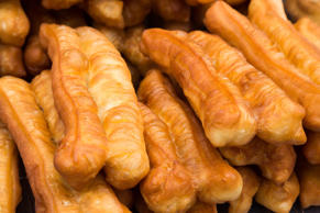 Fried bread stick or popularly known as You Tiao, a popular Chinese cuisine