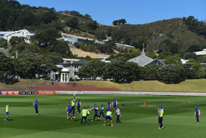 "<span style=""font-size:13px;"">The massive South Island earthquake has postponed the cricket match between Wellington and Central Districts.</span>"
