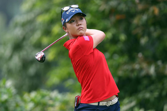 KUALA LUMPUR, MALAYSIA - OCTOBER 11: Lydia Ko of New Zealand watches her tee shot on the 4th hole during the final round of the Sime Darby LPGA Tour at Kuala Lumpur Golf & Country Club on October 11, 2015 in Kuala Lumpur, Malaysia.