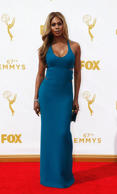 "Actress Laverne Cox from the series ""Orange is the New Black"" arrives at the 67th Primetime Emmy Awards in Los Angeles, California September 20, 2015. REUTERS/Mario"