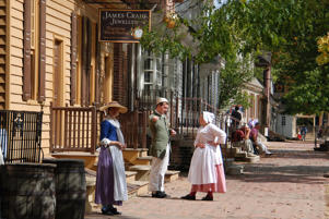 Colonial Williamsburg.