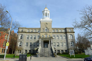 Newport City Hall is the center of Portland government in downtown Newport, Rhode Island.