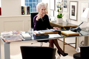 A still from 'The Devil Wears Prada' in which Meryl Streep plays the role of a f...
