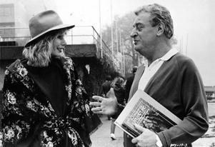 Sally Kellerman and Rodney Dangerfield appear in a scene from the movie, 'Back to School' in the 1986 photo.