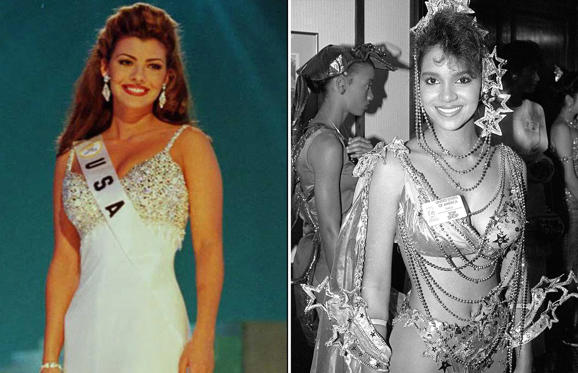 Celebrities who were beauty queens