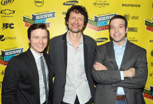 (L-R) Actor Marshall Allman, director Steve Taylor and actor Don Miller.