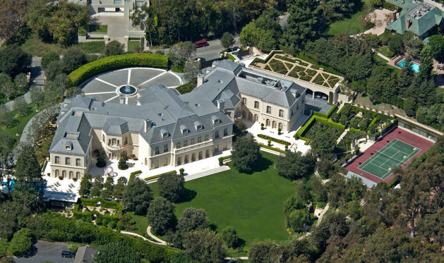 3.	The Spelling Manor, California, USA. Worth: $77m.