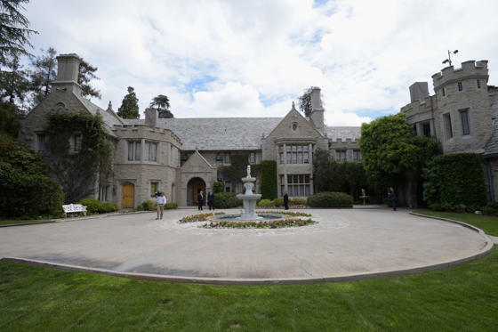 Slide 1 of 14: 1.	The Playboy Mansion, California, USA. Worth: $196m.