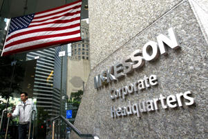 The McKesson corporate headquarters is seen June 4, 2003 in San Francisco, California.
