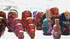 ¿Cómo le dicen a las muñecas rusas en Rusia?