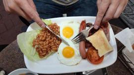 ¿Cómo le dicen al desayuno inglés en Reino Unido?