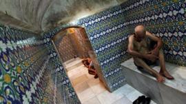 ¿Cómo le dicen a los baños turcos en Turquía?