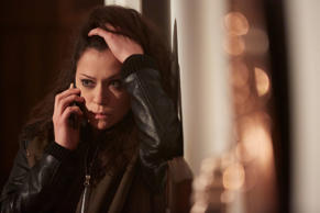 Orphan Black, Season 4, Episode 9, Sarah (Tatiana Maslany). Rights Notes:  For show promotion only Photo Credit: Ken Woroner © BBC AMERICA Promotion of: BBC AMERICA