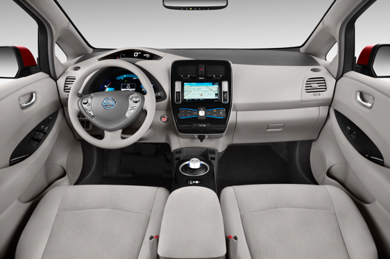 Slide 1 of 11: 2014 Nissan LEAF