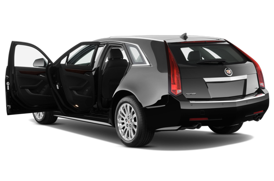 Slide 1 of 22: 2014 Cadillac CTS Sport Wagon